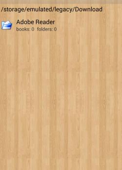 Папки в Cool Reader