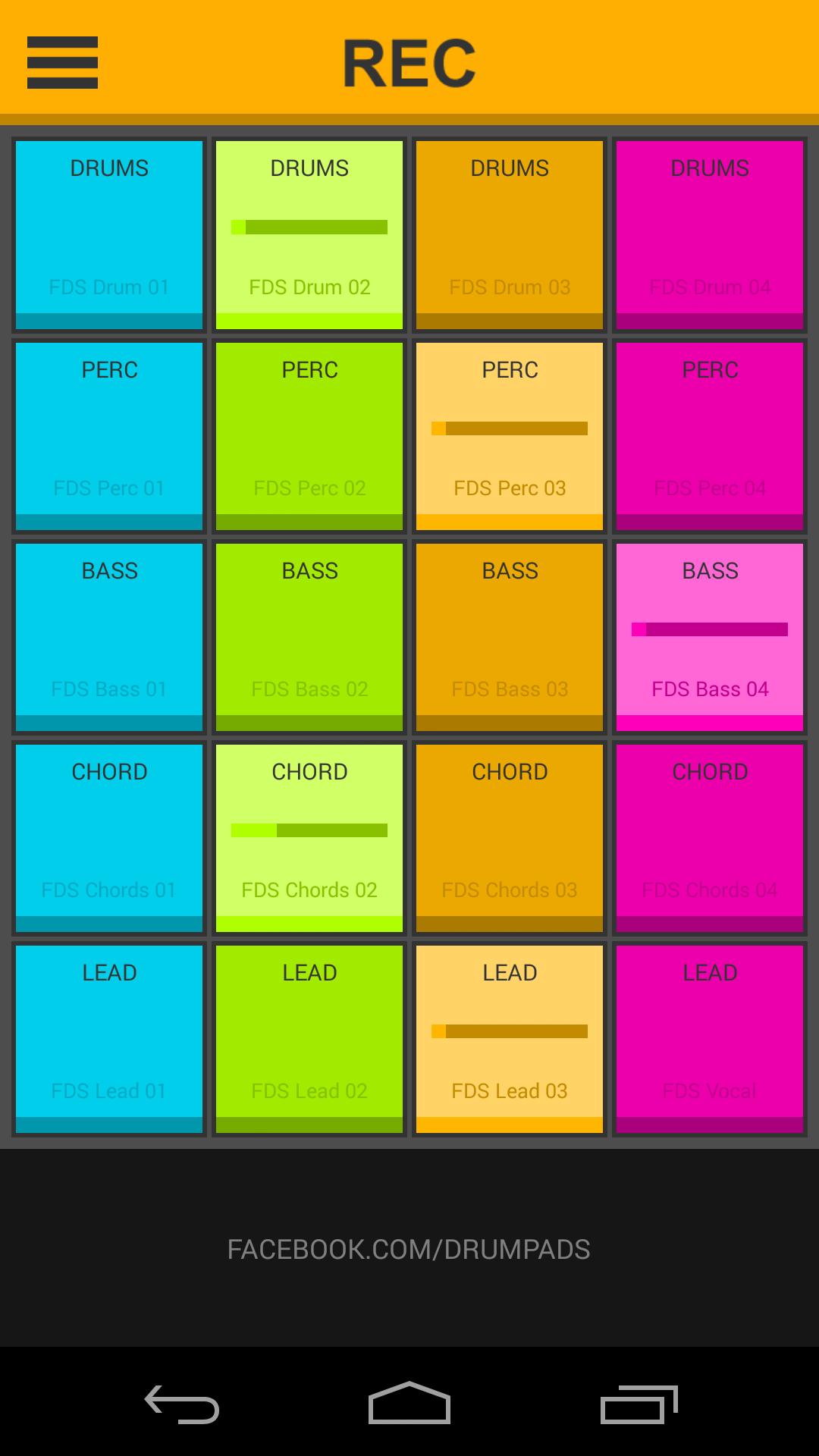 Приложение Dubstep Launchpad 24