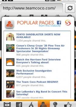 Популярные страницы